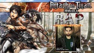 Epic Attack On Titan Rap (NoneLikeJoshua)