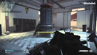 Gun Game in Ignition Gameplay - Onslaught DLC Scrapyard Remake Call of Duty Ghosts