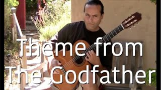 The Godfather Music (Theme)  Guitar - Michael Marc (Gypsy Flamenco Masters)