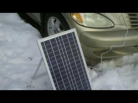 MicroSolar 30 Watt Panel W/Controller