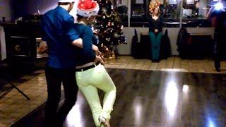 KikiZomba Christmas Class with Kevin & Sonja in Leuven (Tabanka Djaz - Foi assim)