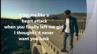 Enrique Iglesias Heart Attack lyrics width=
