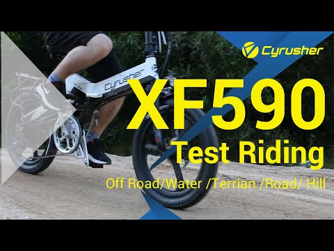 Cyrusher XF590 Hits All Terrains Roads! 🔥 We Just Love This  Little Monster🚲