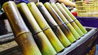 Thai Street Food at an OTOP Fair in Thailand. Street Food Shopping at a Thai Market in Thailand
