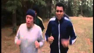 Muhammad Ali about running