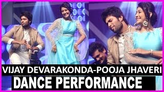 Vijay Devarakonda Dance With Pooja Jhaveri @ Dwaraka Audio Launch | Songs Launch