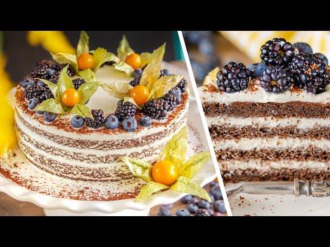 ТОРТ ЧЕРЕМУХОВЫЙ ВЕСЕННИЙ ? нежный и вкусный сибирский торт | коржи из черемухи + сметанный крем