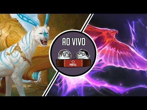 Pionner ao vivo- 4C Saheeli  vs UR PHOENIX | Rodada 2 | Dia 31/10 | Gameplay Físico