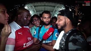 Arsenal 5-1 PSG | Robbie, Troopz & Moh Pay Homage To All The Fans In Singapore! ❤️