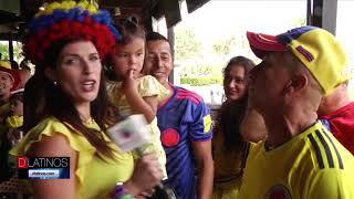 Colombia celebró su victoria en el mundial de Rusia. Gran ambiente en Bokampers