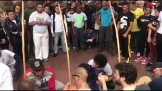 Tucano Preto 30 anos na Roda da Praça da República/SP.
