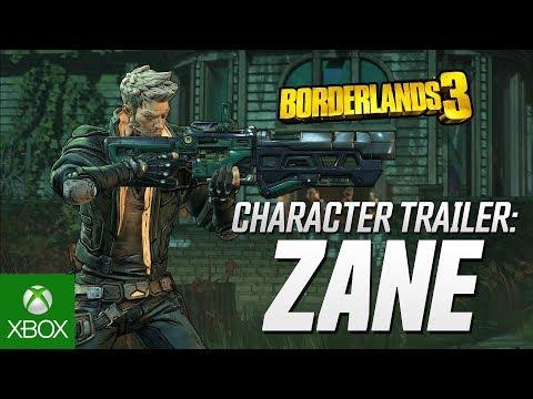 "Borderlands 3 - Zane Character Trailer: ""Friends Like Zane"""