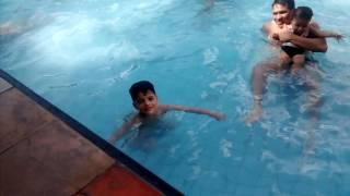 Diversão com as crianças no Grêmio Literário