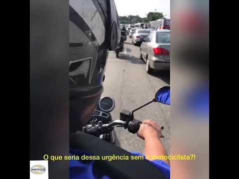 O que seria dessa urgência sem o motociclista?
