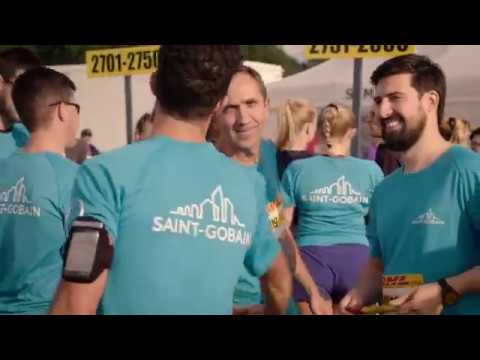 Relay race on September 1st - Saint-Gobain Nordic & Baltic Delegation