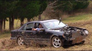 Mercedes Hooning Ends in Explosion!