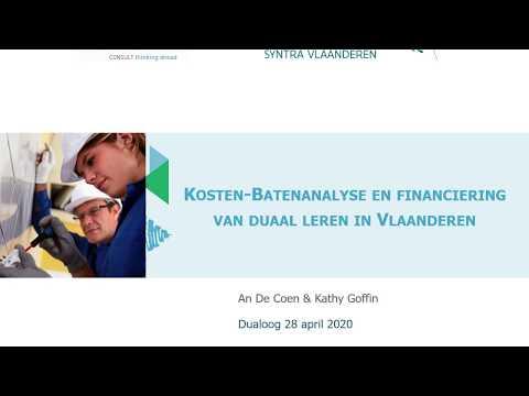 Digitale Dualoog: kosten-batenanalyse en financiering van duaal leren in Vlaanderen