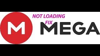 MEGA cloud page not loading FIX....