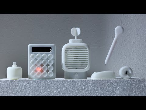 Keyi Chen's desk accessories encourage us to play whilst we work