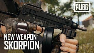 PUBG - New Weapon - Skorpion