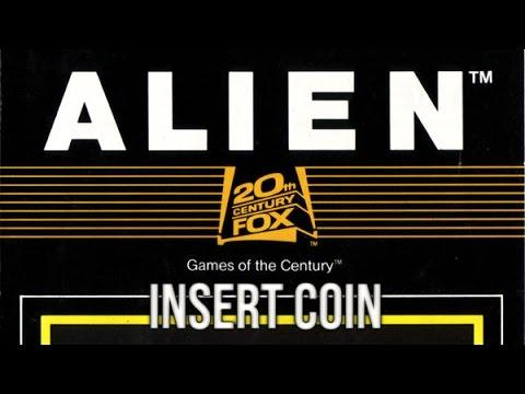 Alien (1982) - Atari 2600 - Clon de Pac-Man