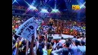 Stone Cold Steve Austin Entrance Raw 23/07/01: First Raw After Invasion