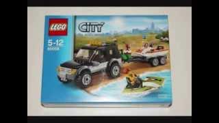 Lego City 2014 - 60058 SUV with Watercraft!