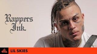 Lil Skies Explains His Tattoos | Rapper's Ink. width=