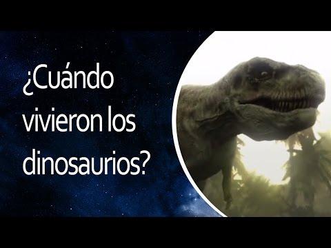 ¿Cuándo vivieron los dinosaurios?