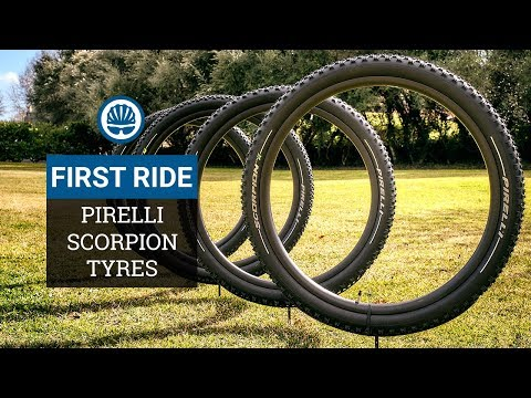 Equal Performance In The Wet or Dry (Sort Of)   Pirelli Scorpion MTB Tyres