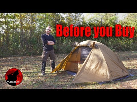Issues? - Before You Buy - Kelty One Man Military Field Tent