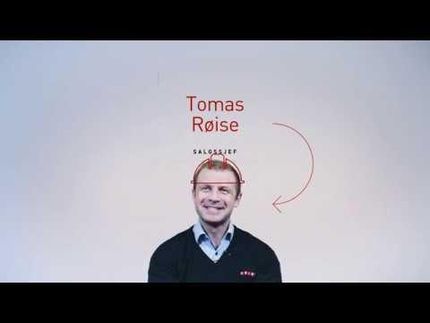 Hils på salgssjef Tomas
