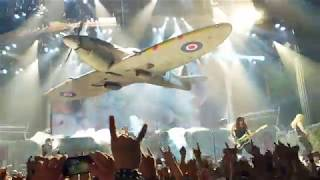 Iron Maiden 2018 Tour opening Aces high