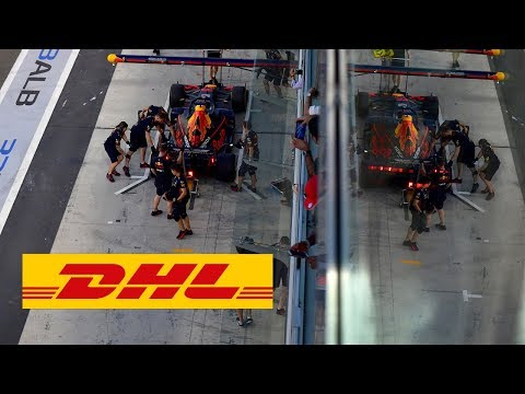 """Red Bull Racing completed the DHL Fastest Pit Stop in the Abu Dhabi season finale for the ninth time in the 2019 Formula 1 season. Max Verstappen was sent on his way in 2.06 seconds on the 25th lap – faster than any other contestant at the Yas Marina Circuit.  Red Bull had already wrapped up the 2019 DHL Fastest Pit Stop Award before the last race of the campaign and thus became the first team to defend the prestigious title. Second place in the standings went to Williams who, despite being likewise responsible for nine of the fastest pit stops in the year, were still second best to the overall consistency of Red Bull.  Red Bull set a world record for servicing no fewer than three times in the 2019, most recently in the Brazilian GP when Max Verstappen's car was fitted with new tires in 1.82 seconds.  """"I'm very proud of our team in the pit lane,"""" said Sporting Director Jonathan Wheatley upon being presented with the 2019 DHL Fastest Pit Stop Trophy. """"Setting a new world record three times in a single season really is something special, we were focused on improving our performance and are proud to see our efforts rewarded!""""   Read more: https://inmotion.dhl/en/formula-1/fastest-pit-stop-award   Subscribe to our channel: https://www.youtube.com/dhl  Find us on: Twitter: https://twitter.com/DeutschePostDHL Facebook: https://www.facebook.com/DHL LinkedIn: https://www.linkedin.com/company/dhl/ For more information, visit our official website: https://www.logistics.dhl  About this channel: Welcome to the official YouTube channel of DHL, the global market leader in the logistics industry and The Logistics Company for the world. In our videos, we guide you through our work space and show you moments of achievement and innovation with our partners. Hit the subscribe button now, stay up to date, and gain exclusive insights."""
