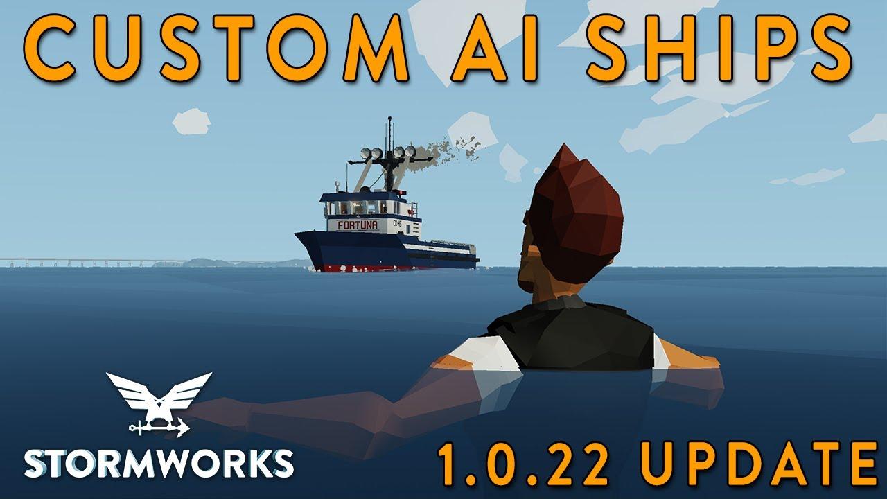 MrNJersey - CUSTOM AI SHIPS - 1.0.22 Update - Stormworks