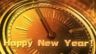 New Year CLOCK 2018 ( v 606 ) Original Countdown Timer with Sound Effects + Voice 4K