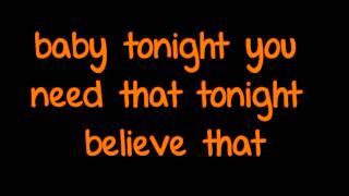 John Legend [ft] Ludacris - Tonight (Best You Ever Had) (Lyrics) (Full Song) HD