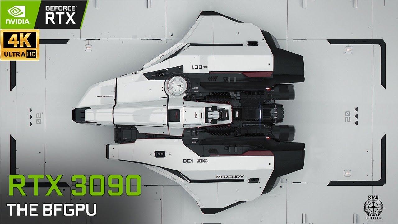 XenthorX - Star Citizen : Mercury Star Runner - 4K Live From Test Server   RTX 3090   4K