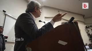 JNU पहुंचे रवीश कुमार का तूफानी भाषण, मोदी और गोदी मीडिया को हिला दिया, खूब बजी तालियां