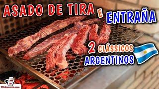 2 CLÁSSICOS ARGENTINOS - Entraña e Asado de Tira - Tv Churrasco