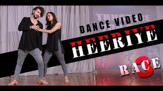 Heeriye Dance Video | Race 3 | Vicky Patel Choreography Duet, Couple Dance