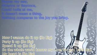 so big iyaz. lyrics