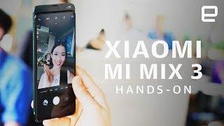 Xiaomi's all-screen Mi Mix 3 slider phone Hands-on