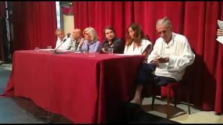 Marina Cicogna ricorda Carlo Vanzina @ stampa Ischia Global Fest 2018, video 6 Corrado Lannaioli