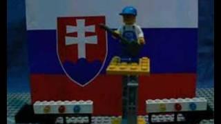 Horkýže Slíže - Emanuel Bacigala (lego music video)