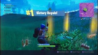 Fortnite sqaud win {solid gold} {launchpad last kill} no talking
