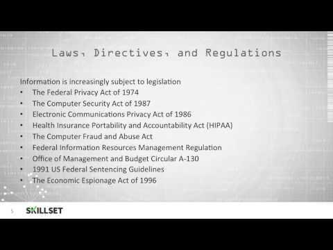 Regulation, Privacy law, Regulatory compliance