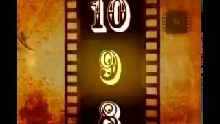 Video Contagem regressiva 24 Filme velho  10 seconds