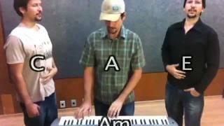 """Aula de Canto - 3 Vozes - Harmonia Vocal #2 com Staccato com os """"Gêmeos"""""""