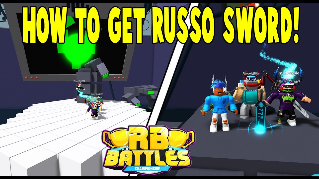 Godthegamer - HOW TO GET RUSSO'S SWORD OF TRUTH N BUILD A BOAT! -RB BATTLES ROBLOX